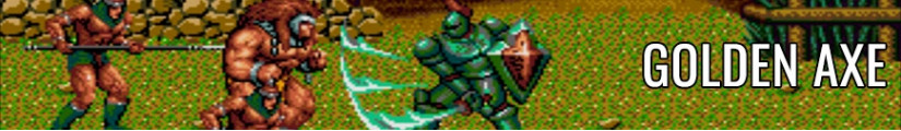 Figures Golden Axe and merchandising products