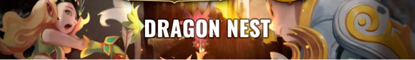 Figures Dragon Nest and merchandising products