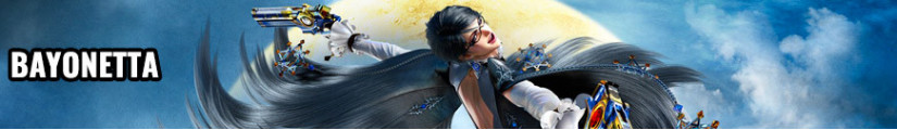 Figures Bayonetta and merchandising products