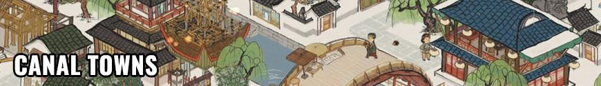 Figurines Canal Towns et produits dérivés