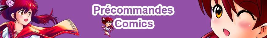 Comics précommandes