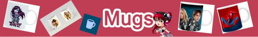 Mugs under official license