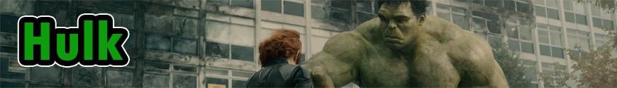 Figurines Hulk et produits dérivés