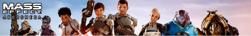 Figures Mass Effect and merchandising products