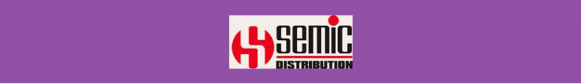 Merchandising products Semic Distribution