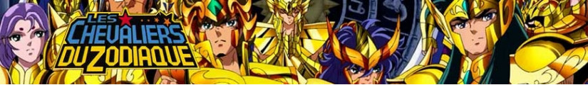 Saint Seiya figures and merchandising products