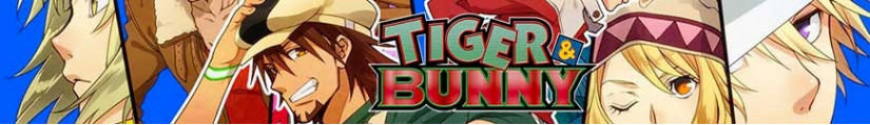 Figurines Tiger & Bunny et produits dérivés