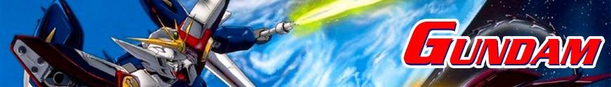 Figurines Mobile Suit Gundam et produits dérivés
