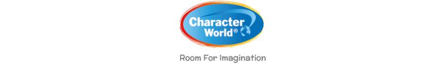 Voici l'intégralité de notre gamme de produits dérivés Character World