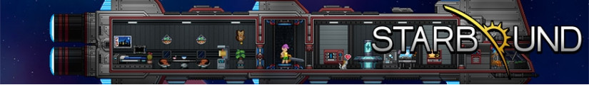 Figures Starbound and merchandising products