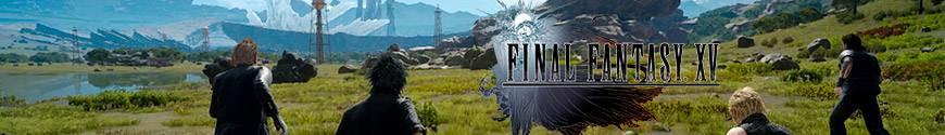 Figurines Final Fantasy et produits dérivés