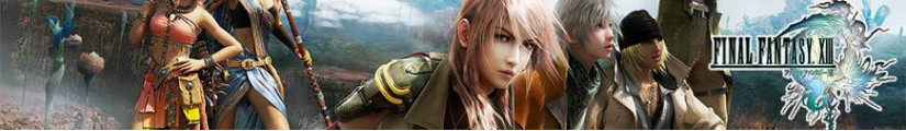Figures Final Fantasy XIII and merchandising products
