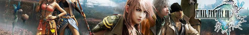 Figurines Final Fantasy XIII et produits dérivés