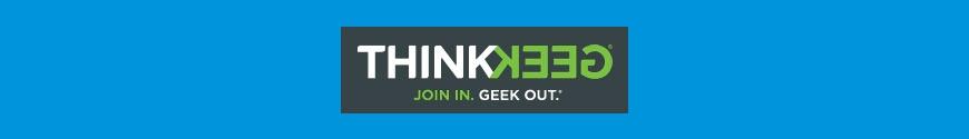 Merchandising products ThinkGeek
