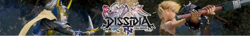 Figures Dissidia Final Fantasy and merchandising products