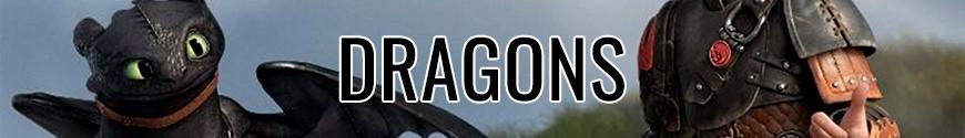 Figurines Dragons et produits dérivés