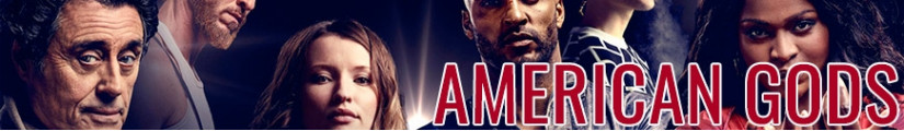 Figures American Gods and merchandising products