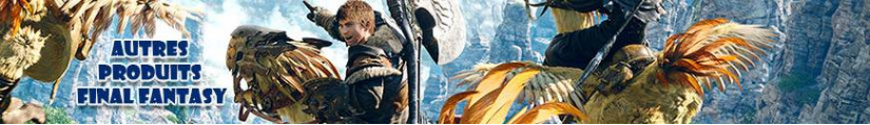 Figurines de tous les Final Fantasy et produits dérivés