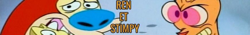 Figurines Ren et Stimpy et produits dérivés