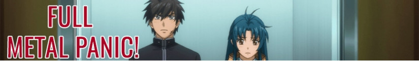 Full Metal Panic! figures and merchandising products