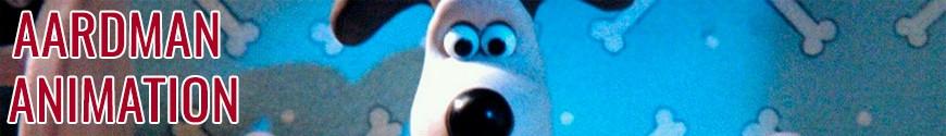 Figurines Aardman Animation et produits dérivés