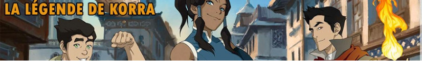 Figures The Legend of Korra and merchandising products