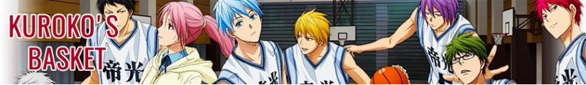 Kuroko's Basket figures and merchandising products