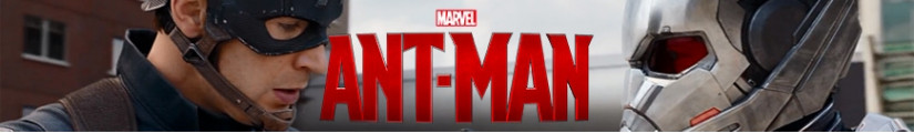 Ant-Man figures and merchandising products