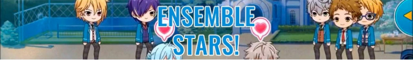 Figures Ensemble Stars!  and merchandising products