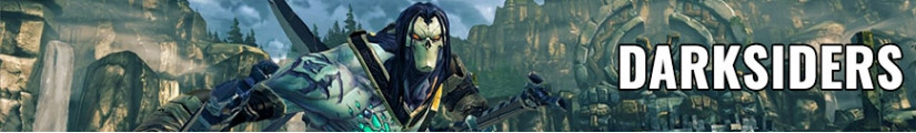 Darksiders figures and merchandising products