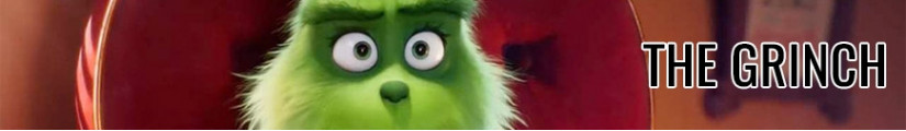 Figures The Grinch and merchandising products