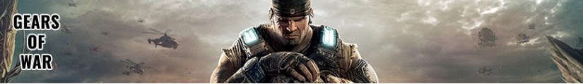Figures Gears of War and merchandising products