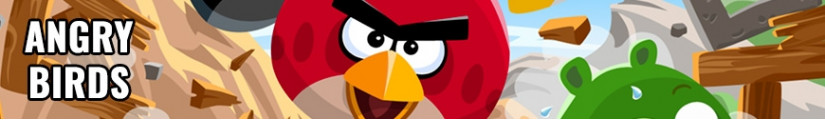 Angry Birds figures and merchandising products