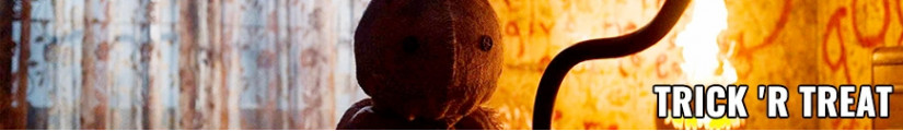Figures Trick 'r Treat and merchandising products
