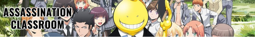 Figures Assassination Classroom and merchandising products