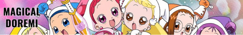 Figures Magical DoReMi and merchandising products